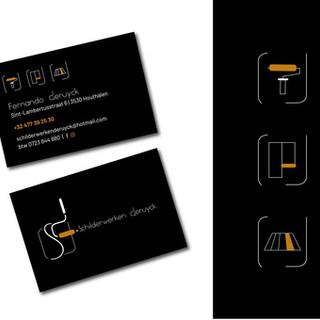 Icons en visitekaartje
