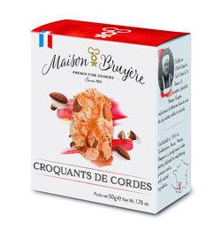 Croquantes de Cordes -Luchtige krokante koekjes met amandelen