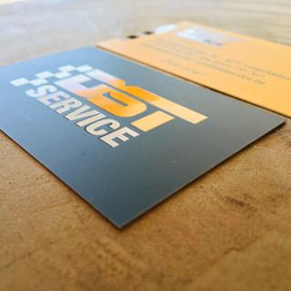 visitekaartje DST Service