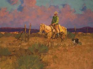 Palomino Sunset 18 X 24