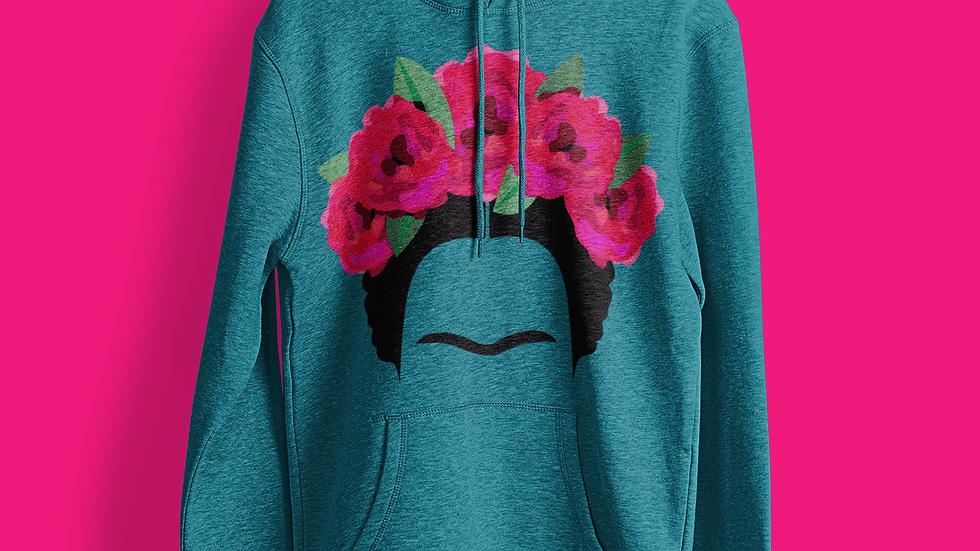 Frida Kahlo Bountfiul Flowers Hoodie