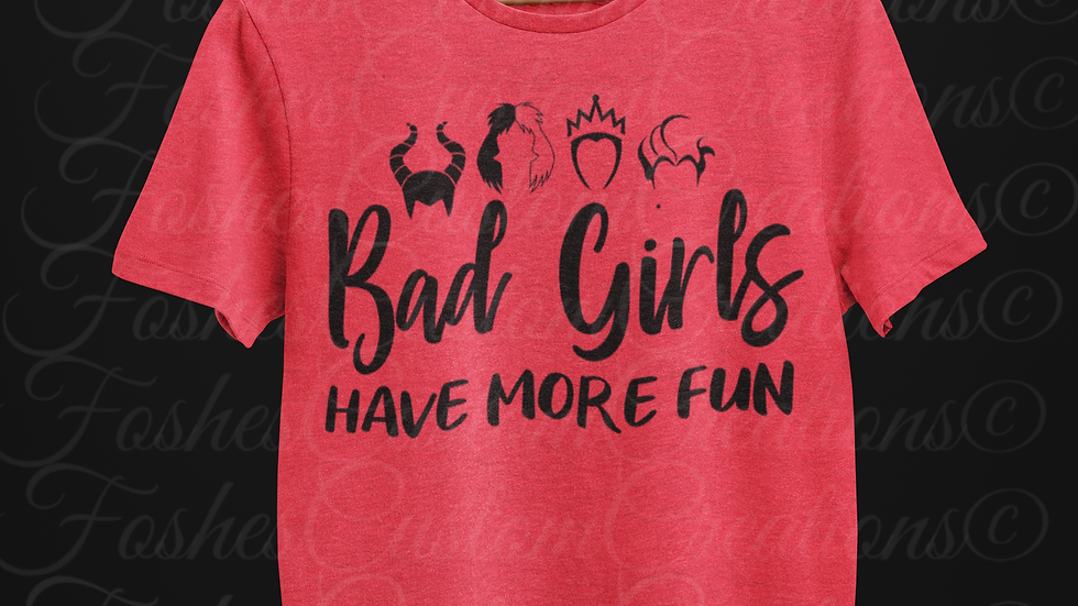 Bad Girls Tee