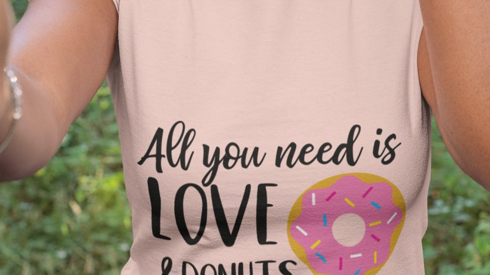 All You Need is Love/Donuts Tee