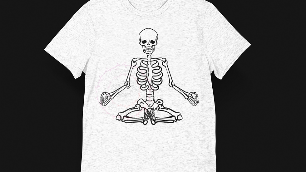 Yoga Skeleton Tee