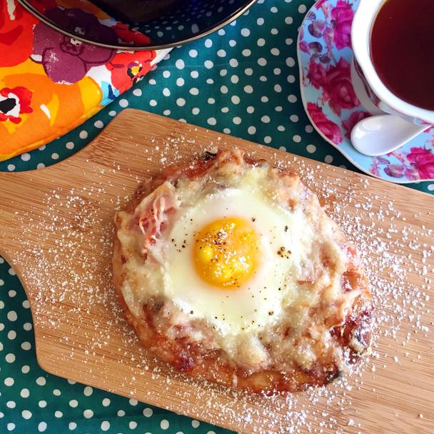 Monte Cristo Breakfast Pizza