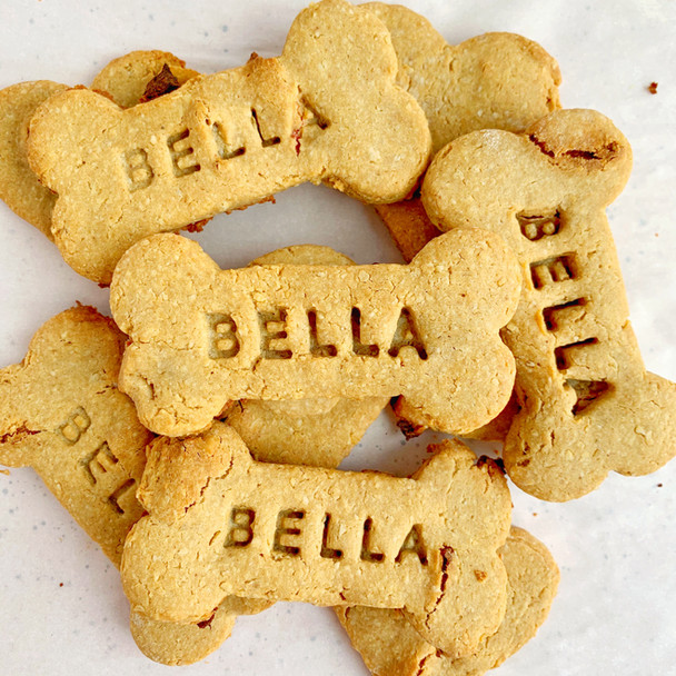 PB&J Dog Cookies