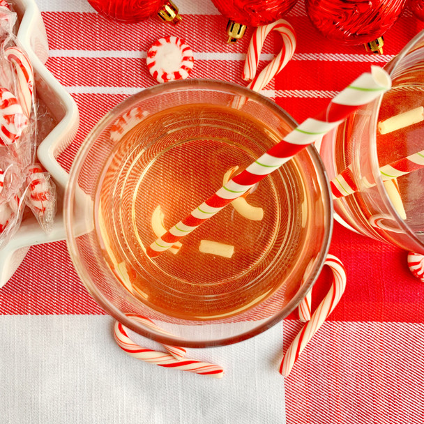 Candy Cane Spritzers