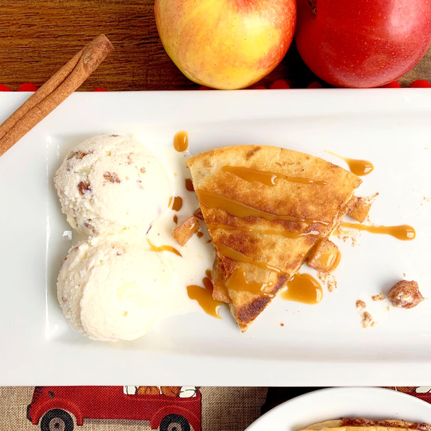 Apple Cheesecake Quesadillas