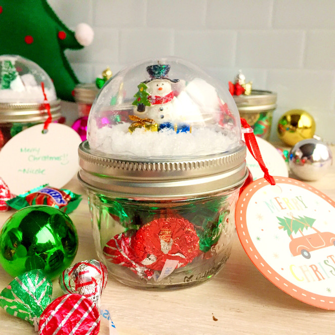 Snow Globe Gift Jars