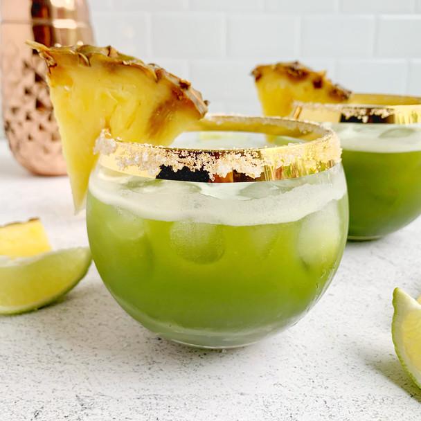 Pineapple Matcha Margarita
