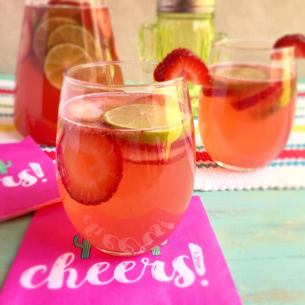 Strawberry Coconut Sangria