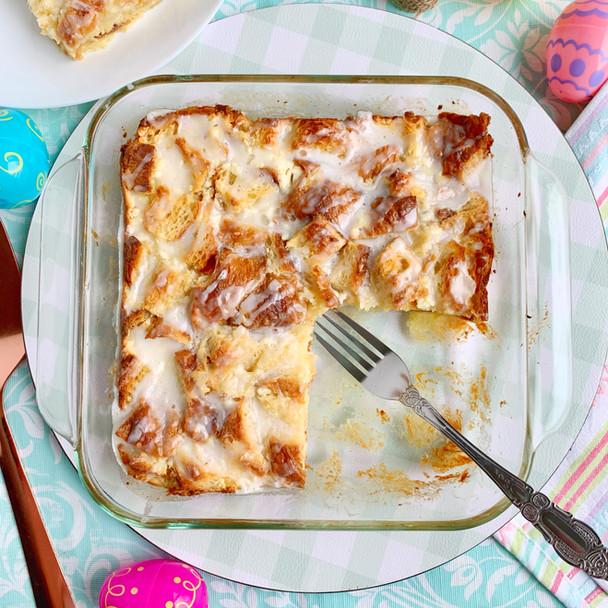 Cheese Danish Croissant Bake