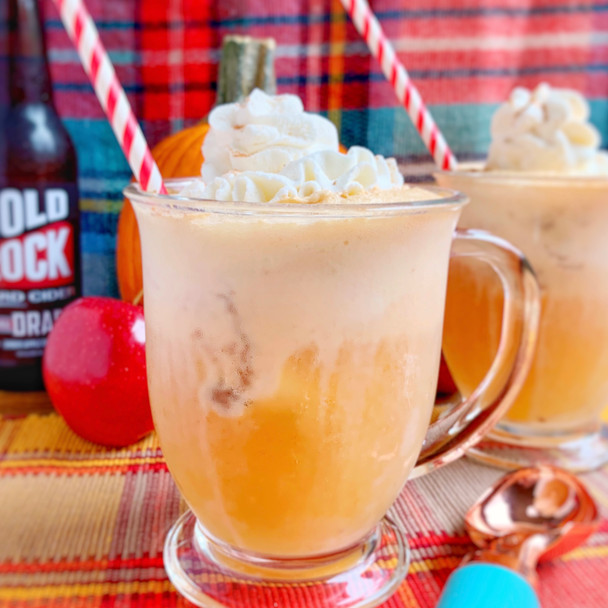 Pumpkin Cider Floats