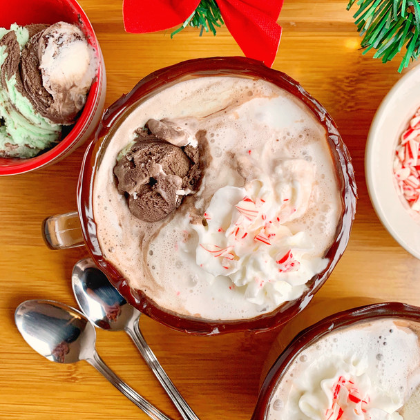 Hot Chocolate Floats