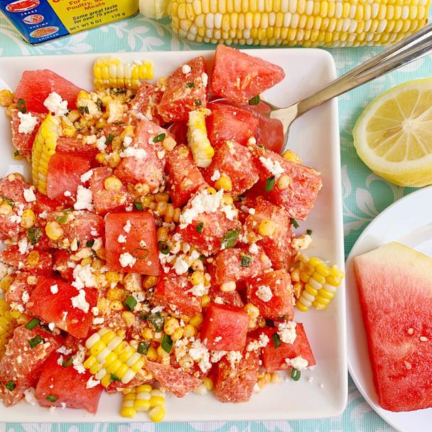 Maryland Style Watermelon Feta Salad