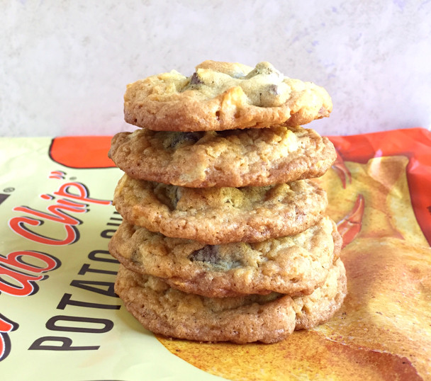 Chocolate Chunk and Crab Chip Cookies