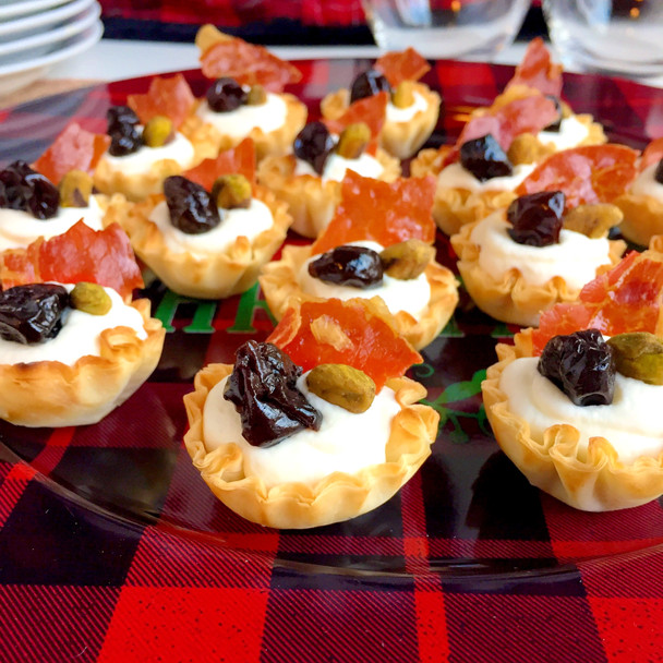 Honey Goat Cheese Tartlettes