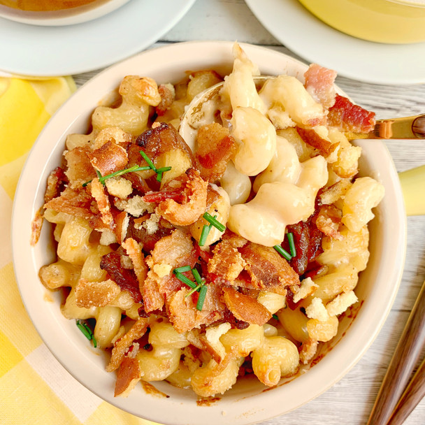 Bacon and Beer Mac and Cheese