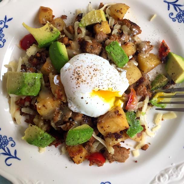 Southwest Turkey Breakfast Hash