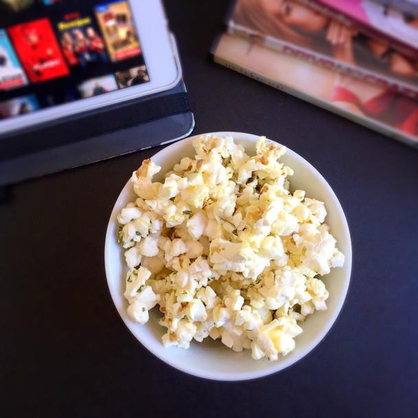 Single Serve Truffle Parmesan Popcorn