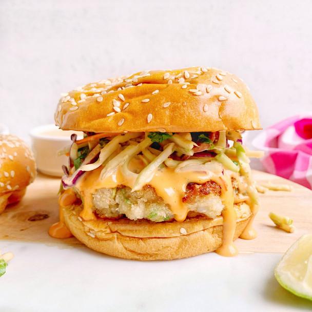 Bang Bang Shrimp Burgers