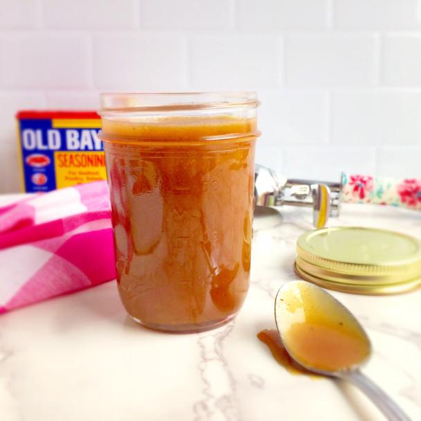 Old Bay Caramel Sauce