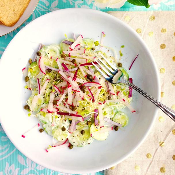 French Cucumber Salad