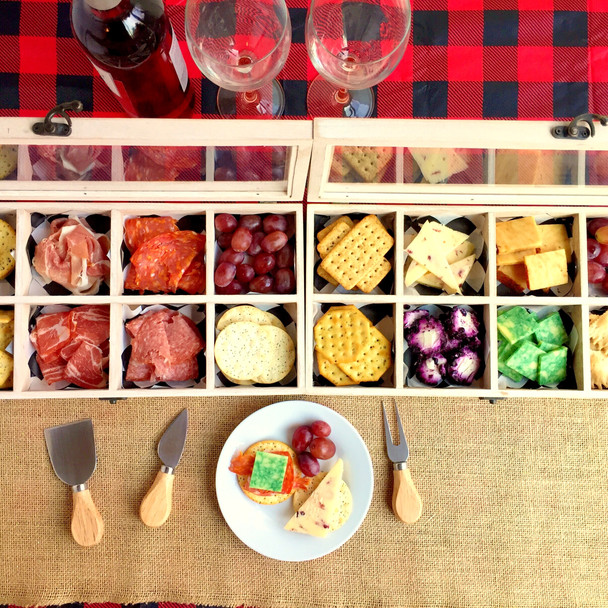 Holiday Charcuterie Boxes + The 12 Days of Appies!