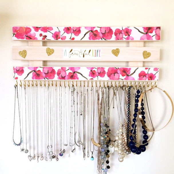 DIY Jewelry Rack