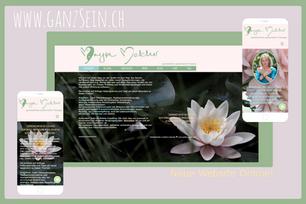 Webdesign für Ganzsein.ch