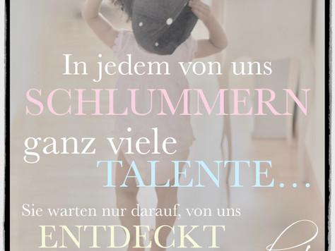 Entdecke dein Talent!