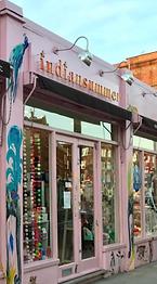 Pink shopfront