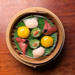 Photo of seafood dim sum