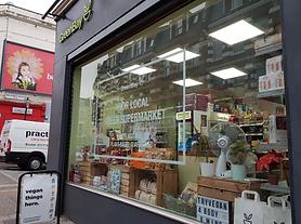 Image of the vegan supermarket GreenBay