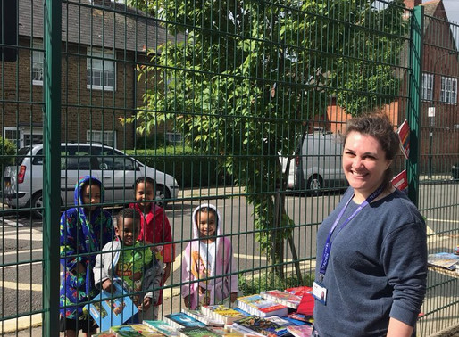 Primary school launches 'lockdown libraries' to promote literacy