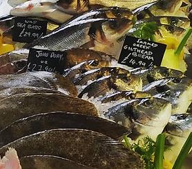 Image of fresh fish on ice