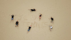 JC Tennis in the Sand!