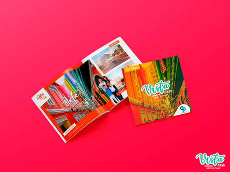Branding integral Proyecto Vista Club