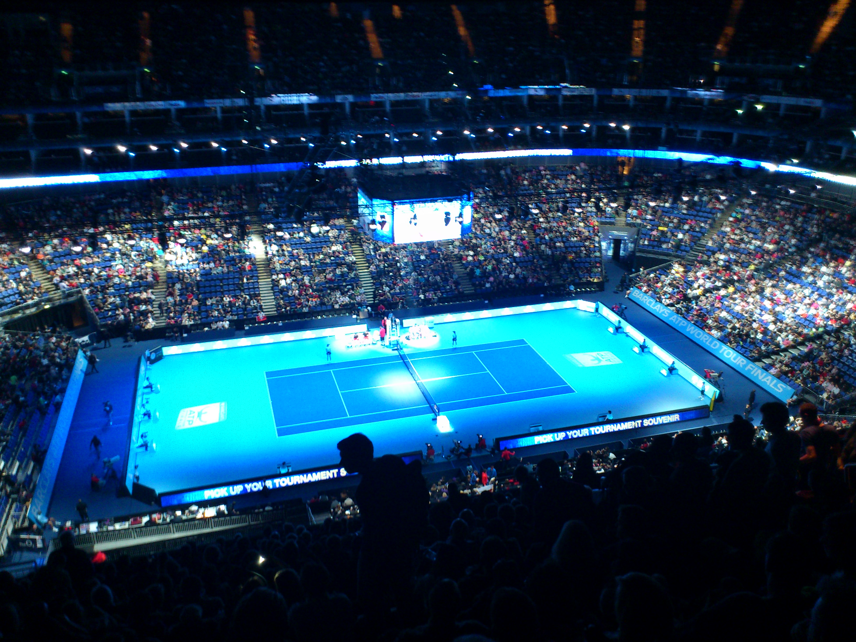 World Tour Finals, 02 Area London