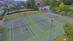 Ilfracombe Tennis Club by Drone