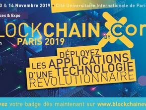 Nous serons à Blockchain Paris 2019!
