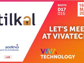 Tilkal sera à Vivatech du 16 au 18 mai 2019!