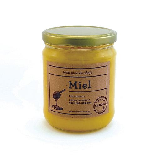 Miel de abeja tipo mantequilla  100% pura, 600 gms