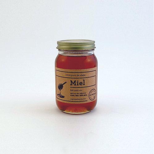 Miel de abeja 100% pura, 300 gms