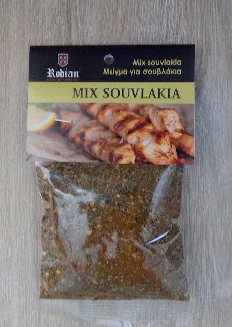 Mix voor Souvlaki