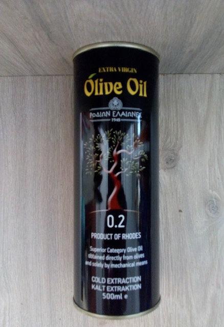 Extra Virgin Olijfolie 0.2 - 500 ml