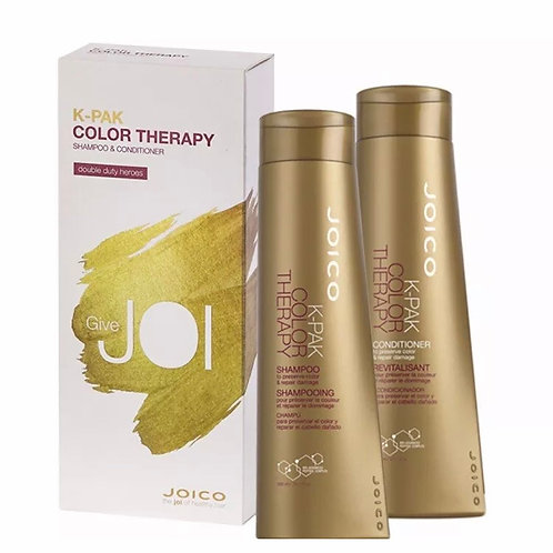 Joico K-Pak kpak Color Therapy Shampoo & Conditioner 300ml Duo Gift Pack