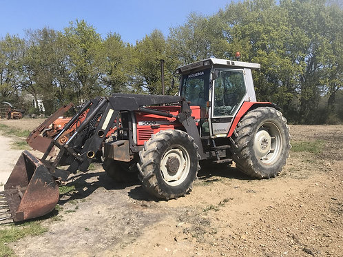 MASSEY 3080 + CHARGEUR
