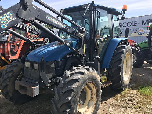 NEW HOLLAND TL 90 + CHARGEUR QUICK
