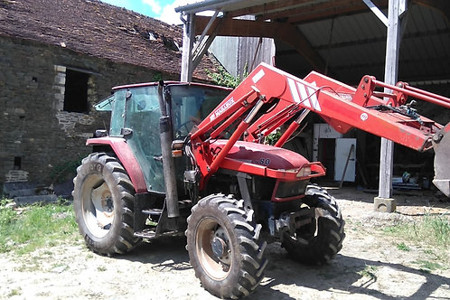 CASE IH CX 80 + CHARGEUR